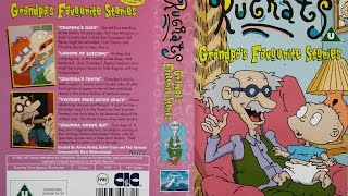 Opening and Closing of 'Rugrats - Grandpa's Favourite Things' (1997, UK VHS) full download video download mp3 download music download