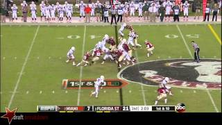 Brandon Linder vs Florida State (2013)