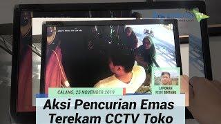 Terekam CCTV, Dua Wanita Ini Diduga Larikan 7 Mayam Emas Dari Toko Perhiasan di Calang. Tersangka Mengaku dari Medan
