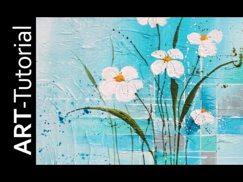 zAcheR-finet Tutorial – Acrylmalen Workshop – Acrylic painting Malen mit Isabelle 13