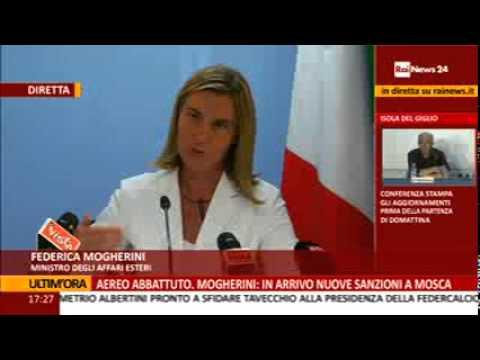 Bruxelles: il ministro Mogherini su Medio Oriente e Ucraina