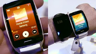 Samsung Gear S Smart-phab-watch Hands-on & First Impressions! Gear 2 vs Gear S - Tizen vs Android Wear: Which is better? Samsung Gear S Specs & release date:...