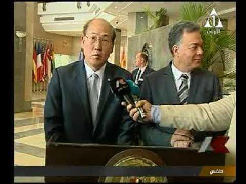 لقاء خاص مع وزير النقل ورئيس المنظمة البحرية الدولية بعد لقاء رئيس الوزراء