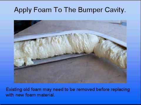 Lotus elan foam repair.avi
