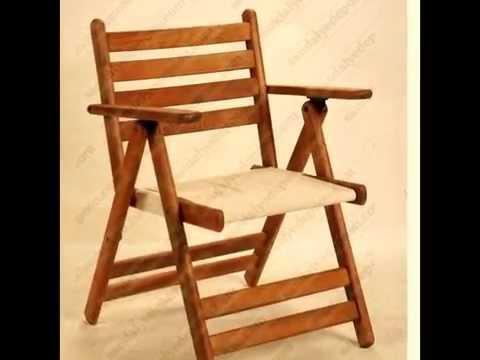 Складные стулья из дерева 34
