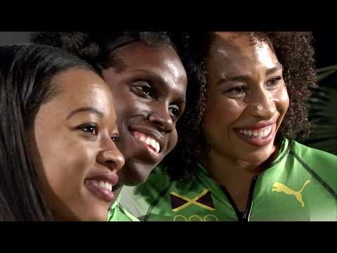 Olympische Winterspiele: Jamaikanische Frauen-Bob-Tea ...