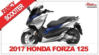 7. [PRETTY DESIGN] 2017 Honda Forza 125 Scooter Price Specification Review