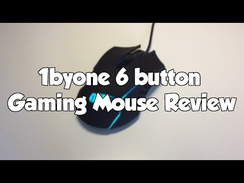 1byone 6 Button Gaming Mouse Review | $8.99 for a gaming mouse?
