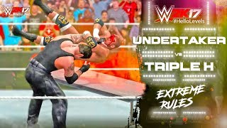 Playing As THE UNDERTAKER vs Triple H In WWE 2K17 Extreme Rules Match. Difficulty = LEGEND. I'll Be Playing More Of...
