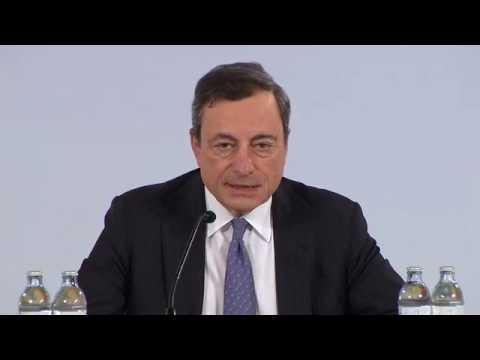 ΕΚΤ: Συνέντευξη Τύπου του Μάριο Ντράγκι