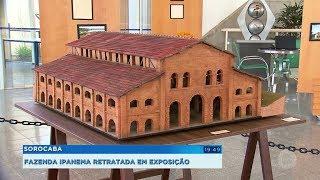 Sorocaba: fazenda Ipanema é retratada em exposição na Biblioteca Municipal