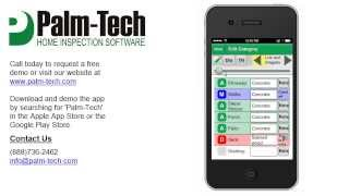 Palm-Tech Inspection Software YouTube video