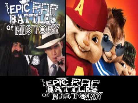Blackbeard vs Al Capone. Epic Rap Battle of History Season 3. CHIPMUNKS version