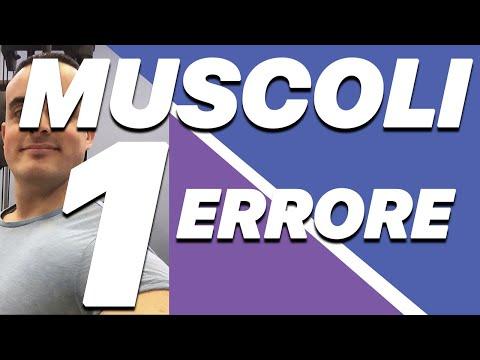 I 3 Errori che ti impediscono di avere un Corpo da Urlo: 2° Errore