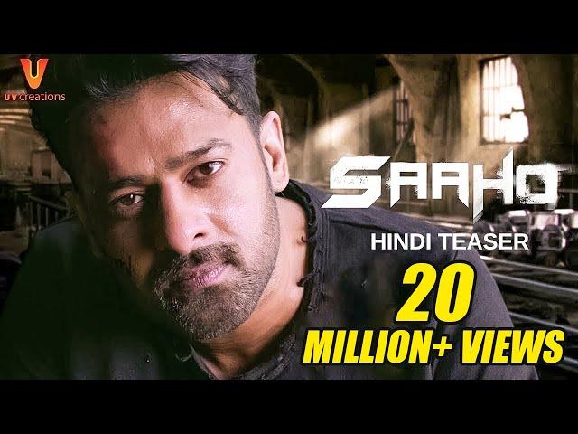 Saaho Official Hindi T...