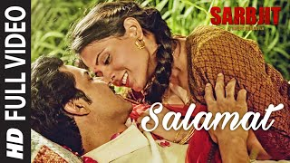 Nonton Salamat Full Video   Sarbjit   Randeep Hooda  Richa Chadda   Arijit Singh  Tulsi Kumar  Amaal Mallik Film Subtitle Indonesia Streaming Movie Download
