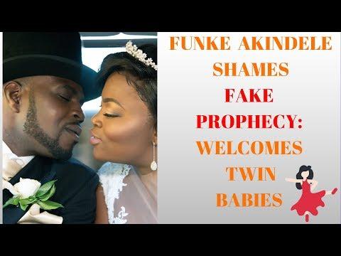 #funkeakindele #jenifa #fakeprophets  FAKE PROPHET SHAMED AS FUNKE AKINDELE WELCOMES TWINS!
