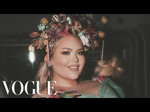 NikkieTutorials Gets Ready For The Met Gala | Vogue