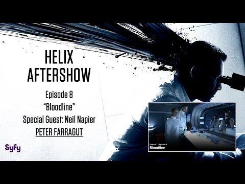 "Helix After Show w/ Neil Napier Season 1 Episode 8 ""Bloodline"" | AfterBuzz TV"