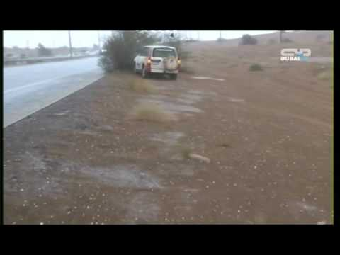أمطار 28-10-2009 -تلفزيون دبي