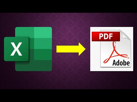 Microsoft Excel 2016 Tutorial - How To Convert Excel Workbook To PDF Or XPS Document