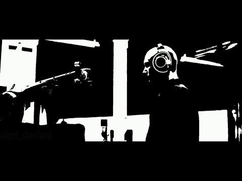 АУТОMАТИКА - Робоц Вс. Mасик (Нигел Станфорд) (Дравинг Версён БлаккВхите)
