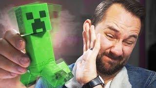 Video Exploding Minecraft Creeper! | 10 Strange Amazon Products MP3, 3GP, MP4, WEBM, AVI, FLV Januari 2019