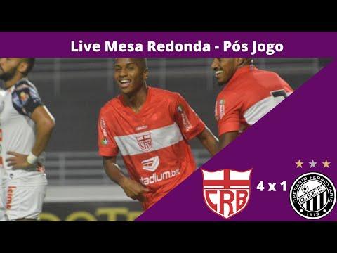 Live Mesa Redona Pós CRB x Operário