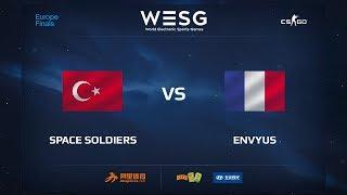 Space Soldiers vs EnVyUs, map 1 cache, WESG 2017 CS:GO European Qualifier Finals