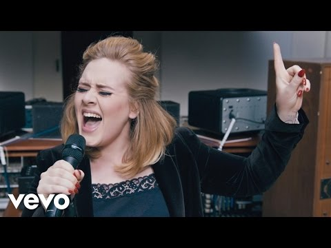Adele - When We Were Young (Live at The Church Studios) (видео)