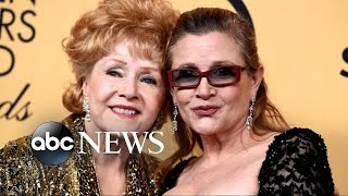 Debbie Reynolds Dies Day After daughter, Carrie Fisher
