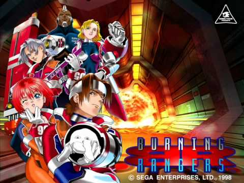 Burning Hearts Burning ANGEL - Burning Rangers (Japanese Version)