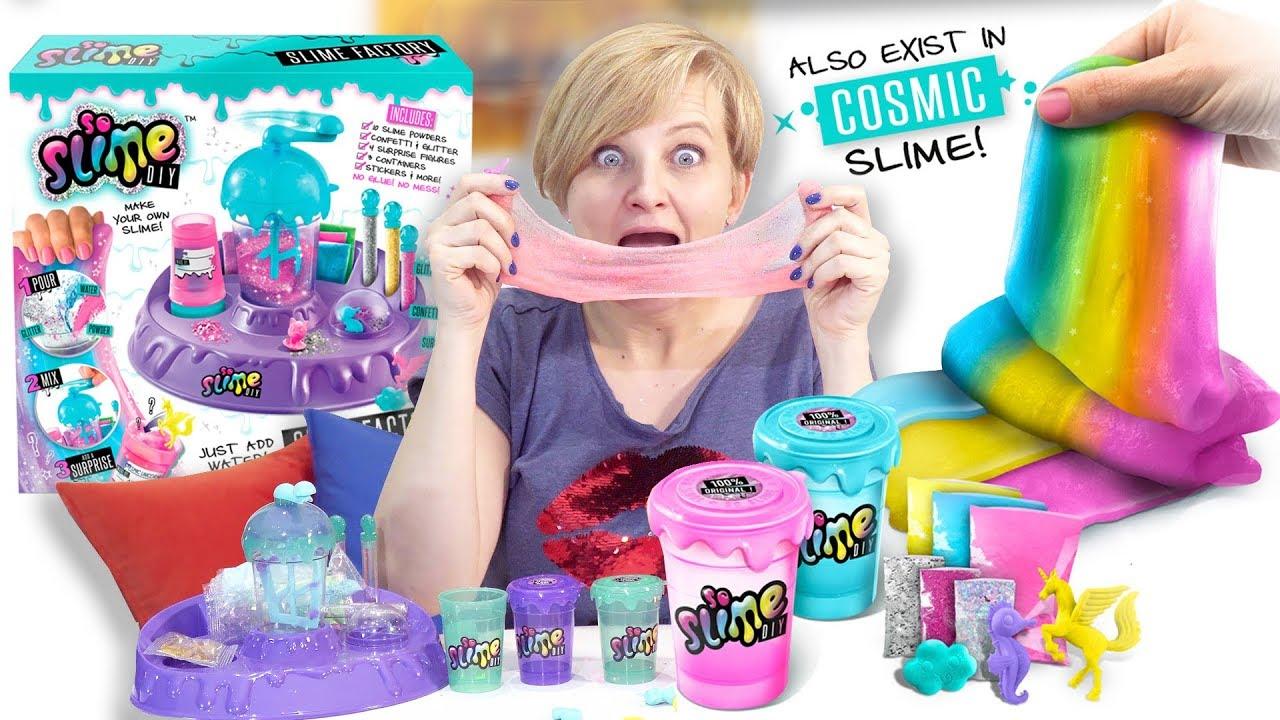 SO SLIME DIY, Canal Toys - testujemy
