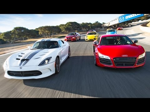 motortrend - This is it! Come ride shotgun with Motor Trend's Angus MacKenzie, Carlos Lago and famed race car driver Randy Pobst as they test twelve of the most exciting,...