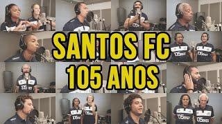 O Santos FC completa 105 anos e para comemorar, nada melhor do que a nossa história ser cantada por quem a construiu.