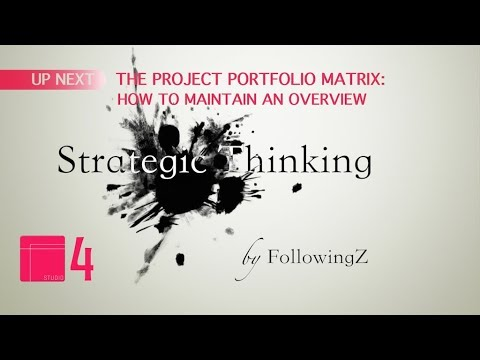 The Project Portfolio Matrix - How to Maintain an Overview