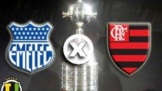 FICHA TÉCNICA EMELEC-EQU 3 X 2 FLAMENGO-BRA - TV GLOBO Local: Estádio George Capwell, em Guayaquil (Equador)...