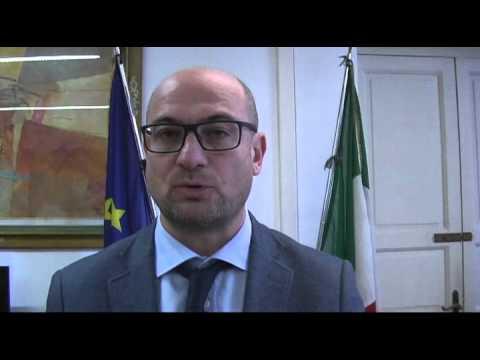 Il sindaco di Pontedera Simone Millozzi presenta la partecipazione al Festival di San Remo