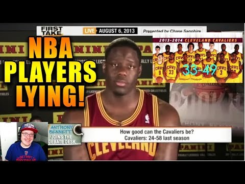 Reacting To NBA Players