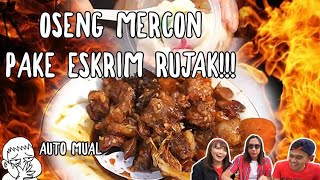 Video TANBOYKUN & MGDALENAF KAPOK !!! MAKAN OSENG MERCON PAKE RUJAK ES KRIM MP3, 3GP, MP4, WEBM, AVI, FLV April 2019