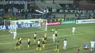 Santos 2x1 Peñarol - Santos Tri Campeão da Copa Santander Li...