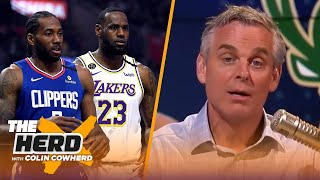 No issue with MJ refusing to play on Dream Team with IT, Colin talks 16-team NBA playoffs | THE HERD by Colin Cowherd