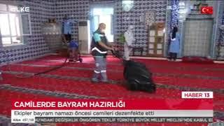 Camilerimizde Bayram Temizliği - Ülke Tv