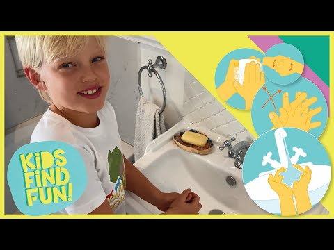 How to Wash Your Hands for Kids – WHO Technique - Coronavirus (COVID-19) Hand Washing video.