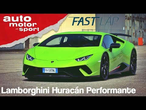 Lamborghini Huracán Performante: Das unzähmbare Biest ...