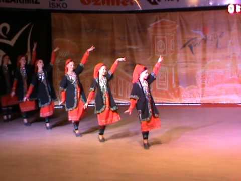 26 İnegöl Belediyesi Uluslararası Kültür Sanat Festivali Halk Dansları Gösterisi Dernekler