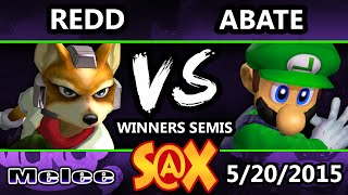 Abate (Luigi) vs VGBC | Redd (Fox): An entertaining match, mostly because it has some of the most hilariously strange commentary I've ever heard