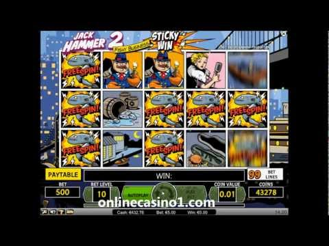 Jack Hammer 2 slot for real money