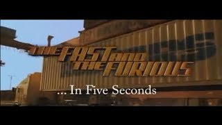 Nonton Fast and the Furious in Five Seconds Film Subtitle Indonesia Streaming Movie Download