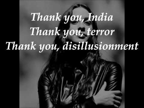 Alanis Morissette - Thank You (lyrics)